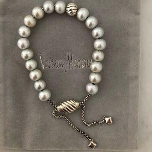 David Yurman Spiritual Beads pearl bracelet